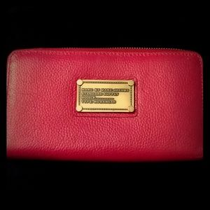 Rare Hot Pink Marc by Marc Jacobs Wallet!!